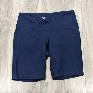 Old Navy Active Fitted Navy Blue Bike Shorts Med